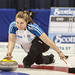 Team B.C. skip Kesa Van Osch in Ford Hot Shots action the Scotties Tournament of Hearts in Montreal, Quebec