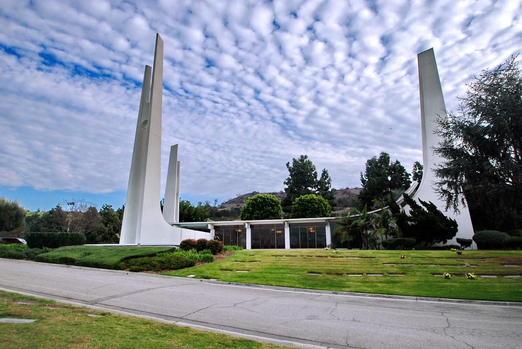 Memorial Chapel Rose Hills Memorial Park 1964 Rose Hills Flickr