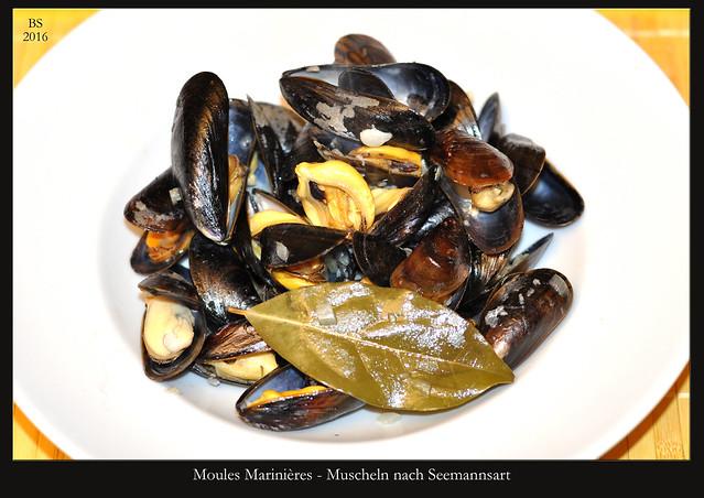 Moules Marinières - Muscheln nach Seemannsart - Fotos: Brigitte Stolle