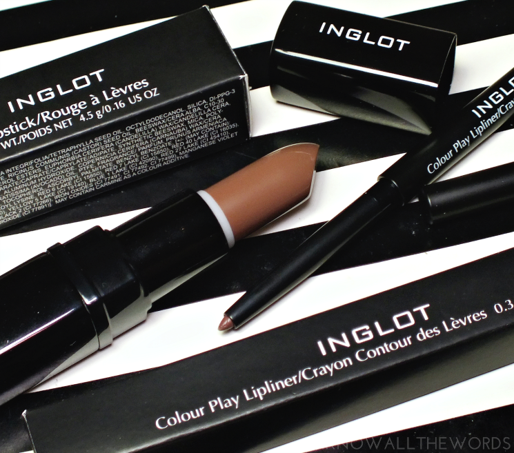 inglot what a spice matte lipstick 441 colour olay lipliner 320 (1)