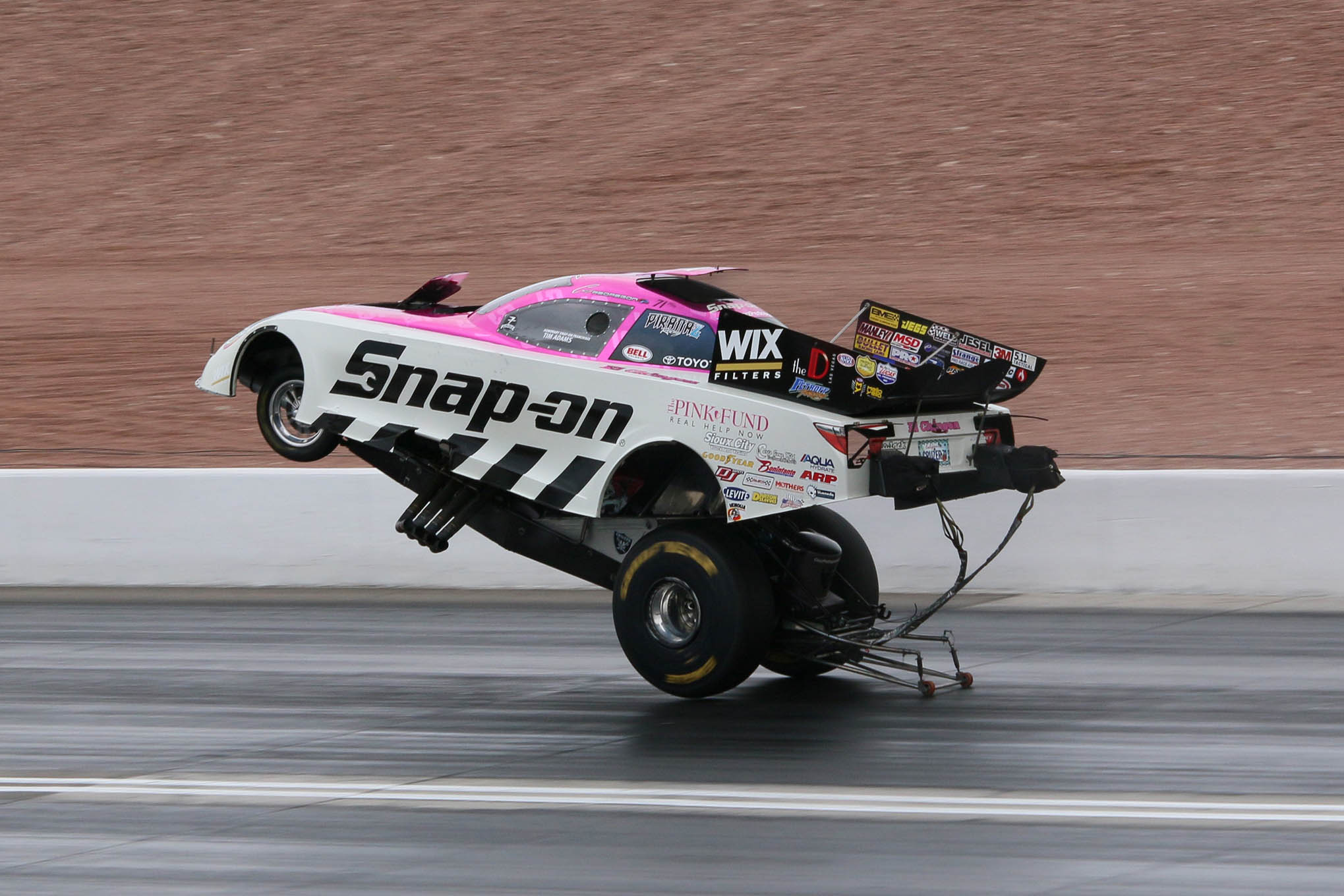 Good Sam Club Open Roads Forum John Force Defeats Courtney Force In The Funny Car Final