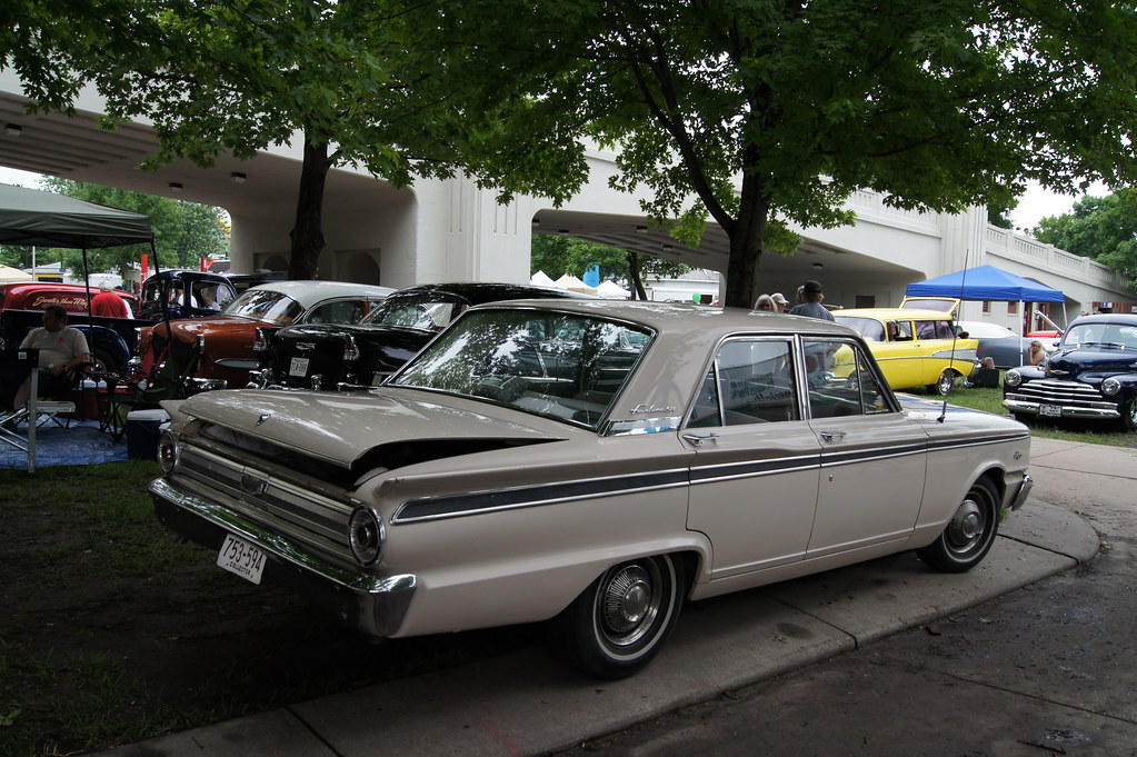 63 Ford Fairlane 500 Msra Back To The 50 S 40th