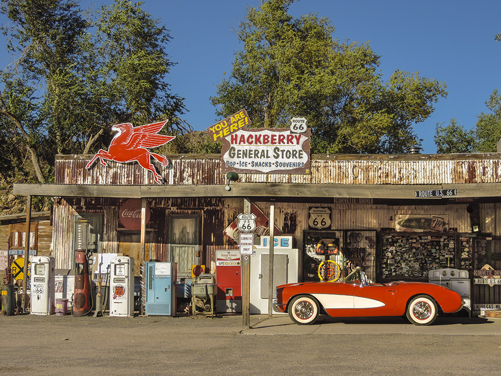 Route 66 Hackberry General Store Hackberry Arizona