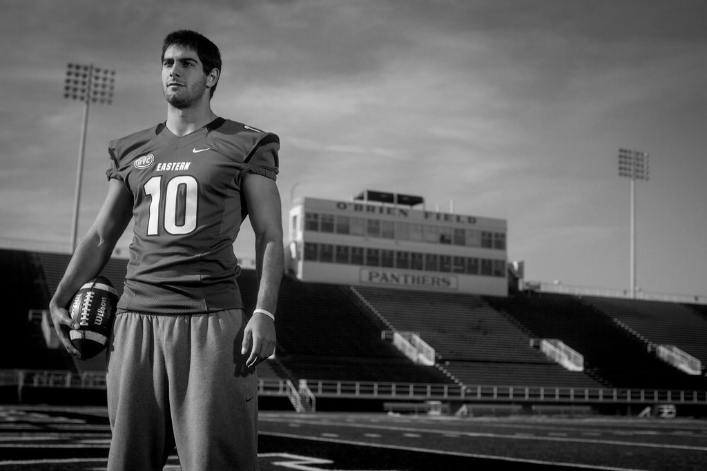 Jimmy Garoppolo | EIU quarterback Jimmy Garoppolo at O'Brien ...