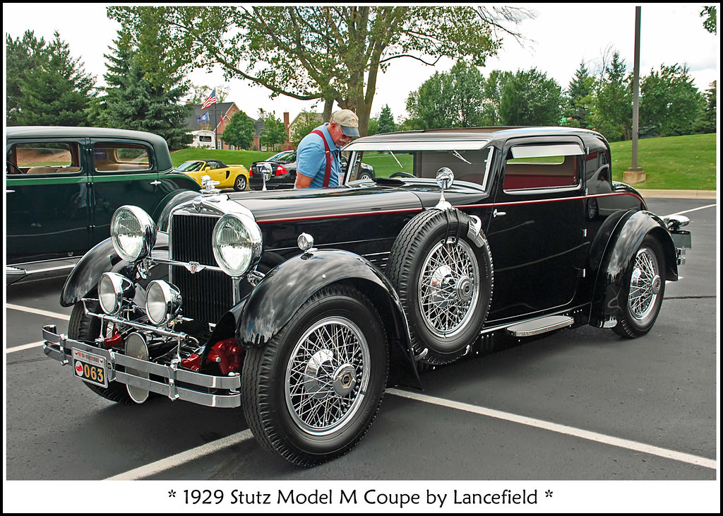1929 Stutz Model M Coupe All Of My Classic Car Photos