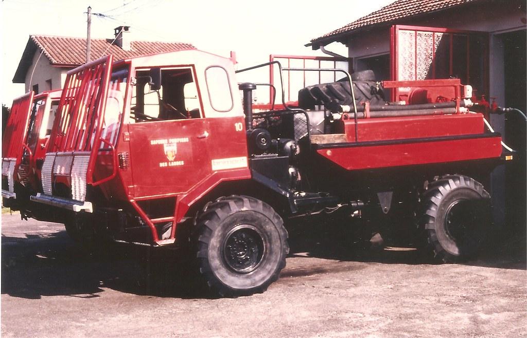 Brimont Etr 206 Ccf 4x4 Scan De Photo Landes 1992