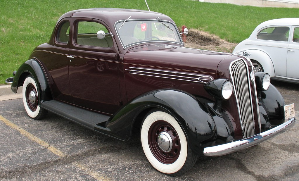 1936 Plymouth P2 Deluxe Coupe I Really Like The Looks Of