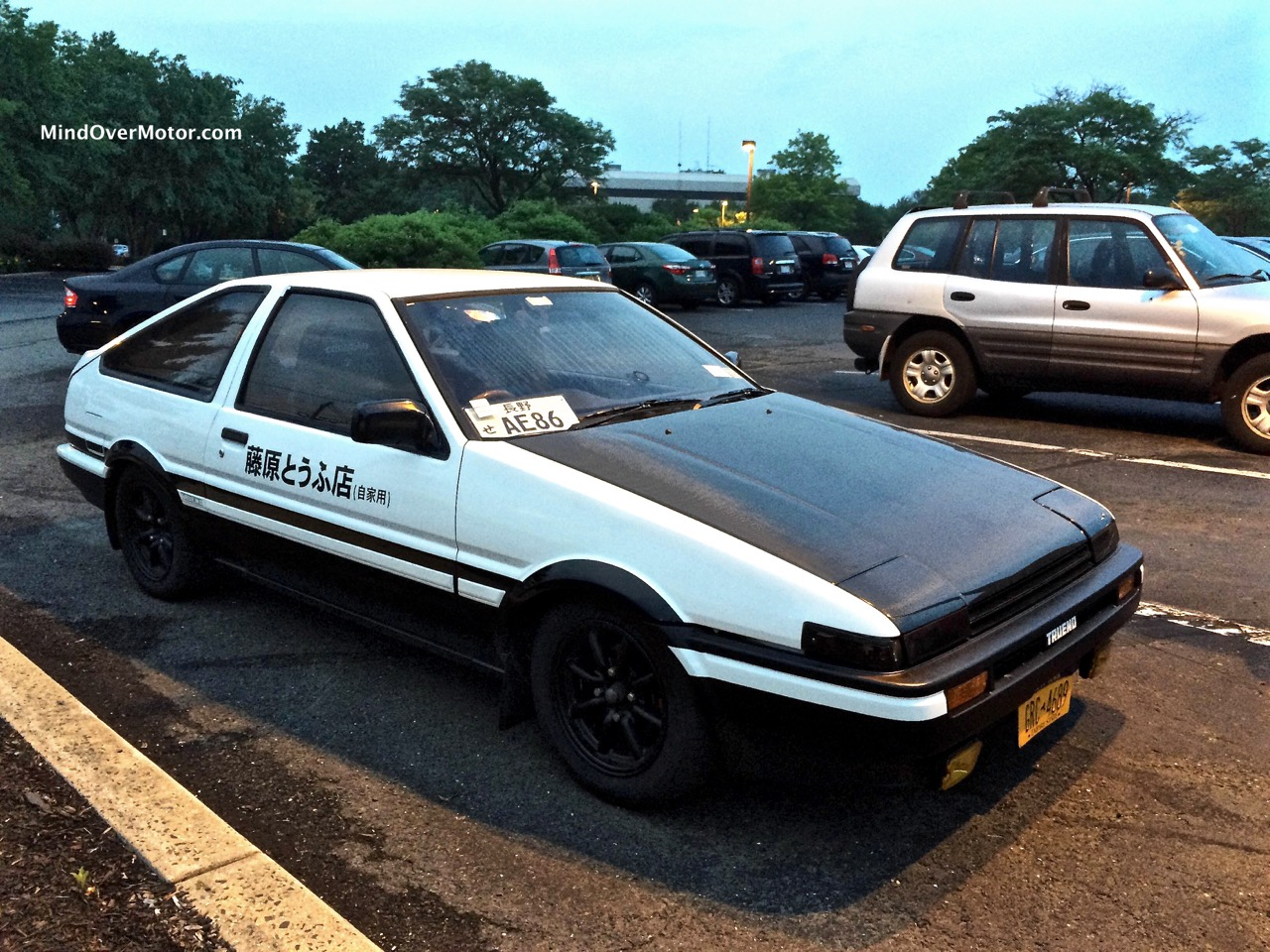 1985 toyota corolla ae86 sprinter trueno spotted in. Black Bedroom Furniture Sets. Home Design Ideas