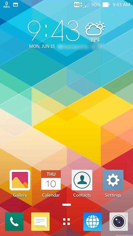Khám phá bộ Themes đa màu sắc của Asus Zenfone 2 - 77600