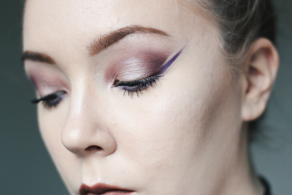 nyx ultimate shadows makeup look