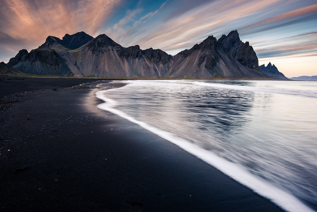 Vestrahorn from Stokksnes | Last year I couldn't see this ...