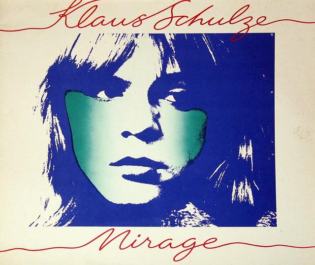 """Klaus Schulze Mirage 12"""" vinyl LP"""