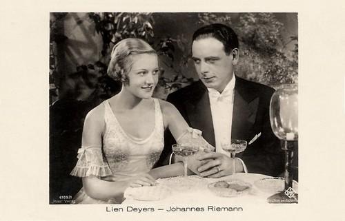 Lien Deyers and Johannes Riemann in Sein Scheidungsgrund (1931)