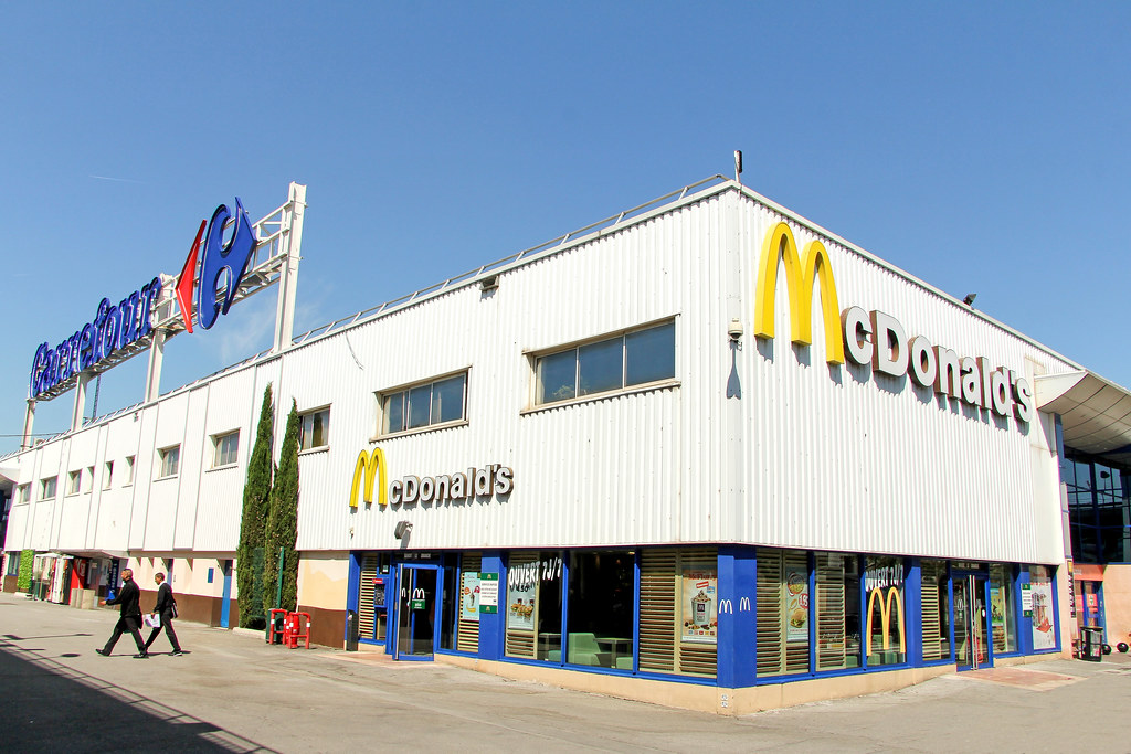 mcdonald 39 s aix les milles france this instore restaurant flickr. Black Bedroom Furniture Sets. Home Design Ideas
