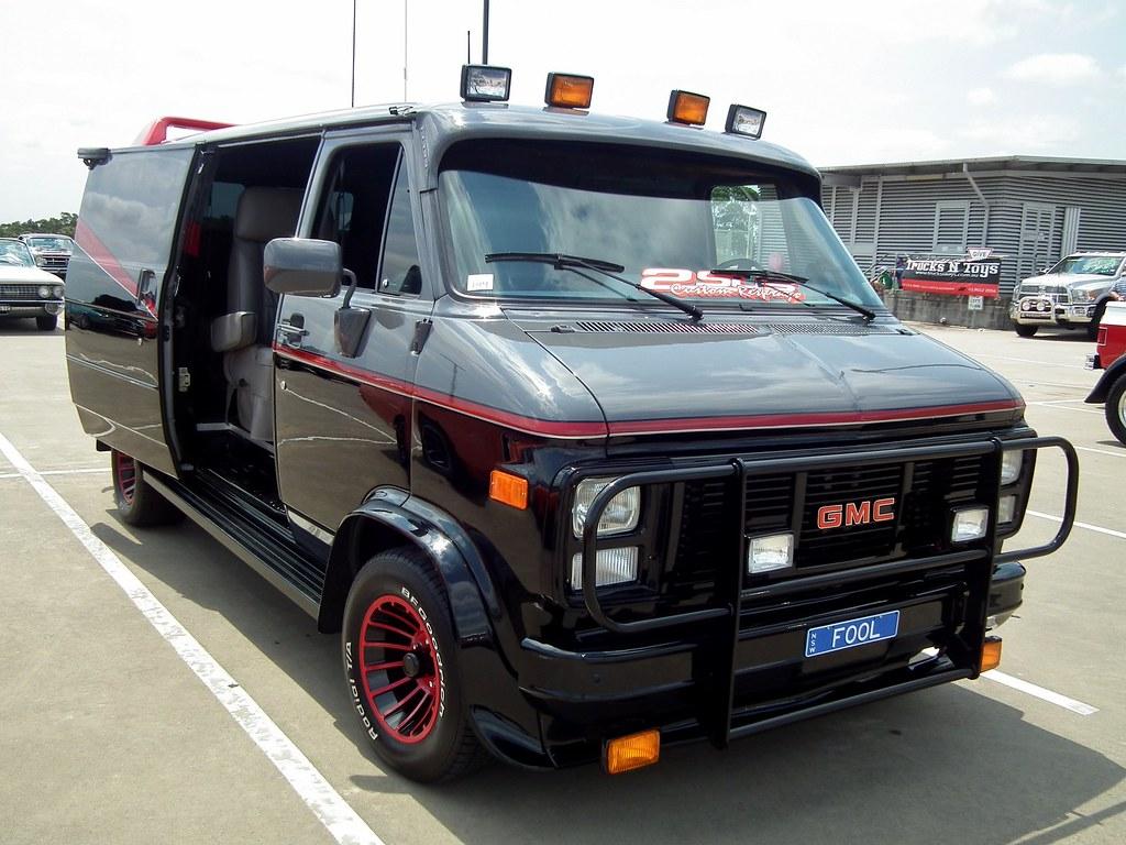 1983 GMC G-Series panel van - A Team | 1983 GMC G-Series ...