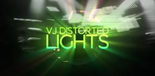 VJ Distorted Lights (Set 4)