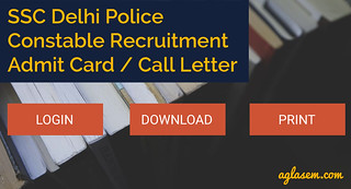 Delhi Police Admit Card 2017 Released   Download Here