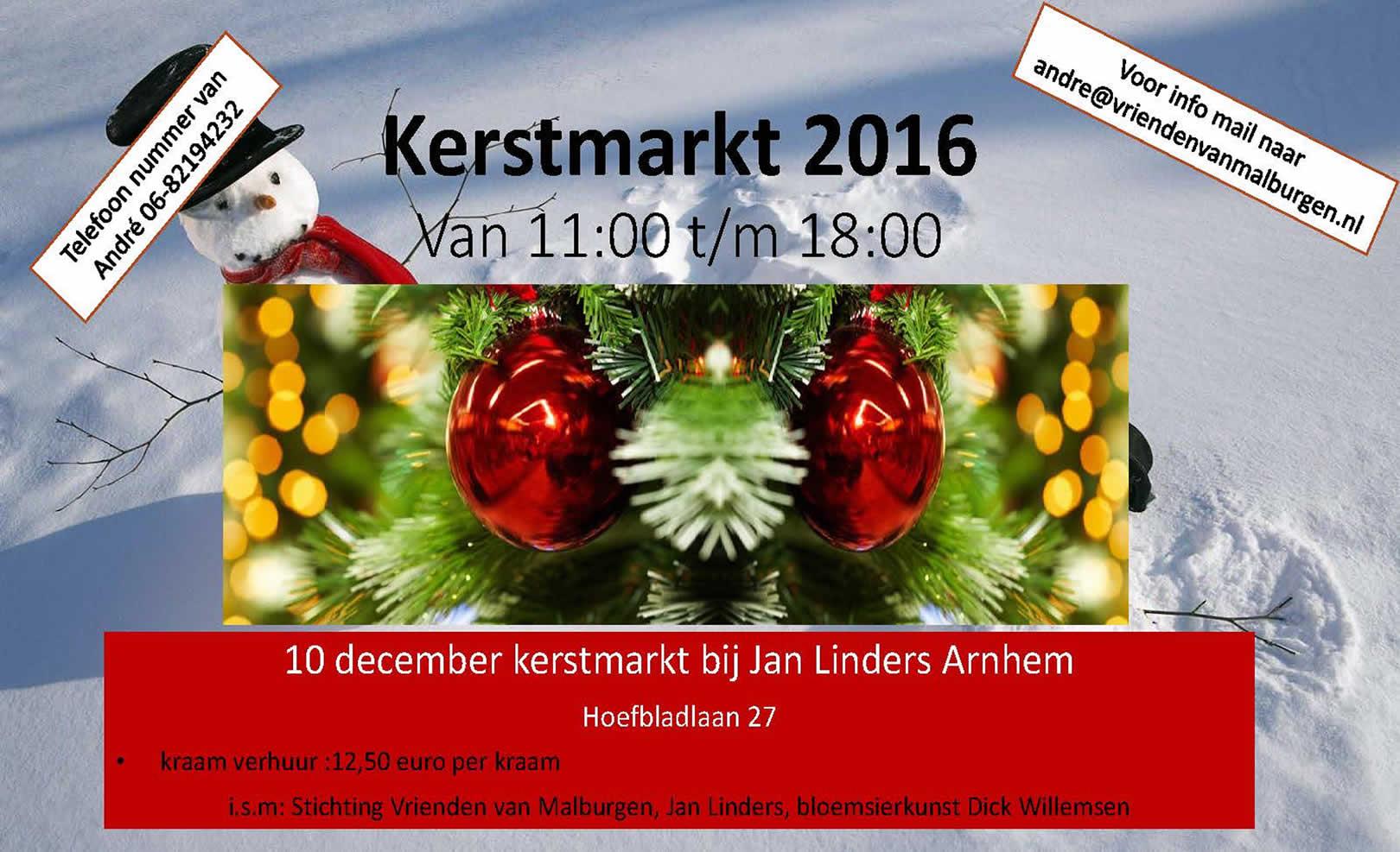 Zaterdagmiddag 10 December – Kerstmarkt in West