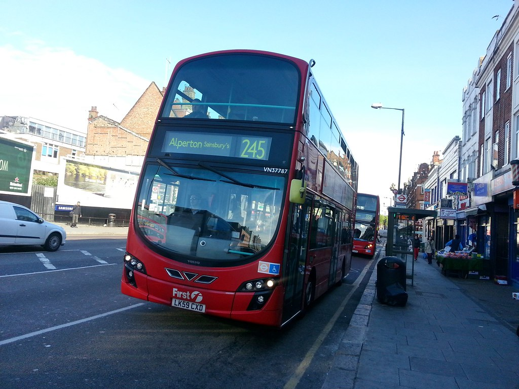 First London Wright Eclipse Gemini 2 Bodied Volvo B9tl Vn