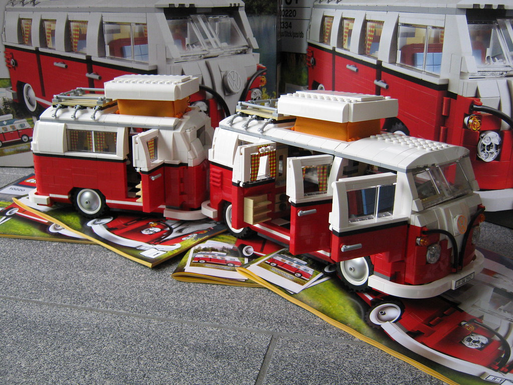 Volkswagen T1 Camper With Caravan Special Made For The L