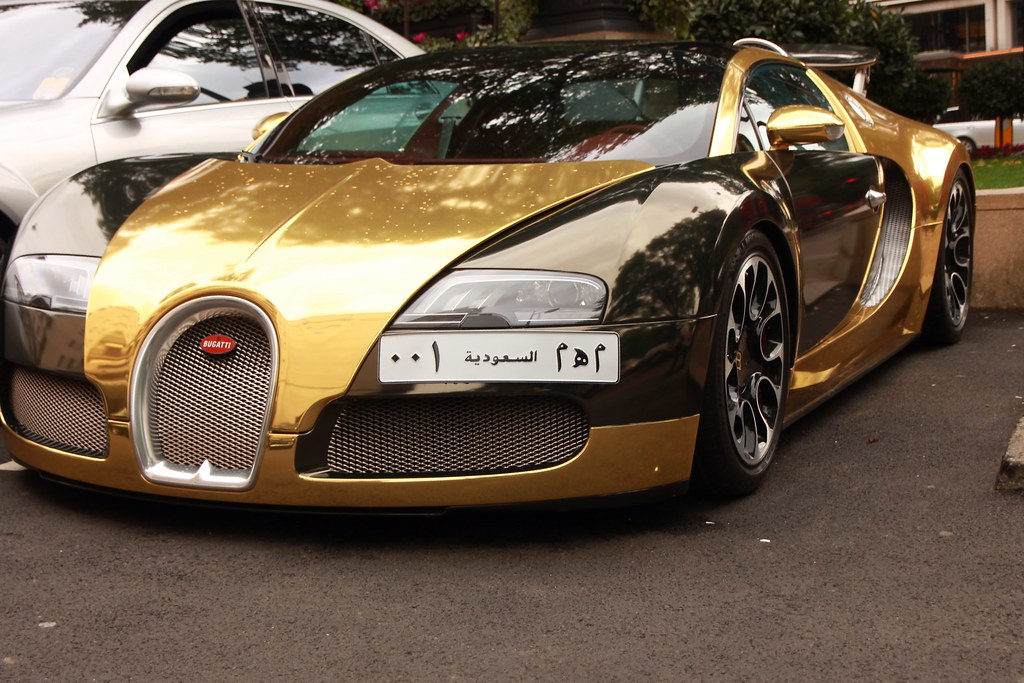 gold bugatti veyron mike murray flickr. Black Bedroom Furniture Sets. Home Design Ideas