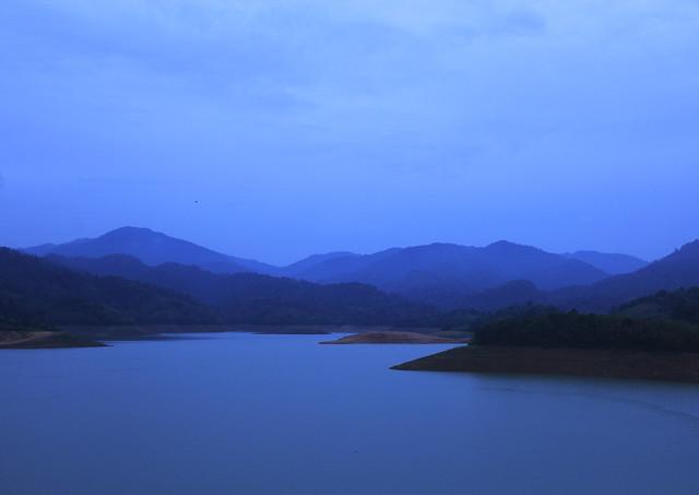 pemandangan dam sungai selangor