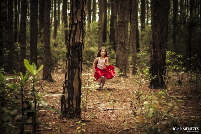Girl running in forest - to illustrate a blogpost by Yang-May Ooi about ReWilding My Life