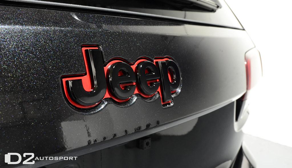 Jeep Trail Rated 4X4 Nameplate Emblem Wrangler Grand