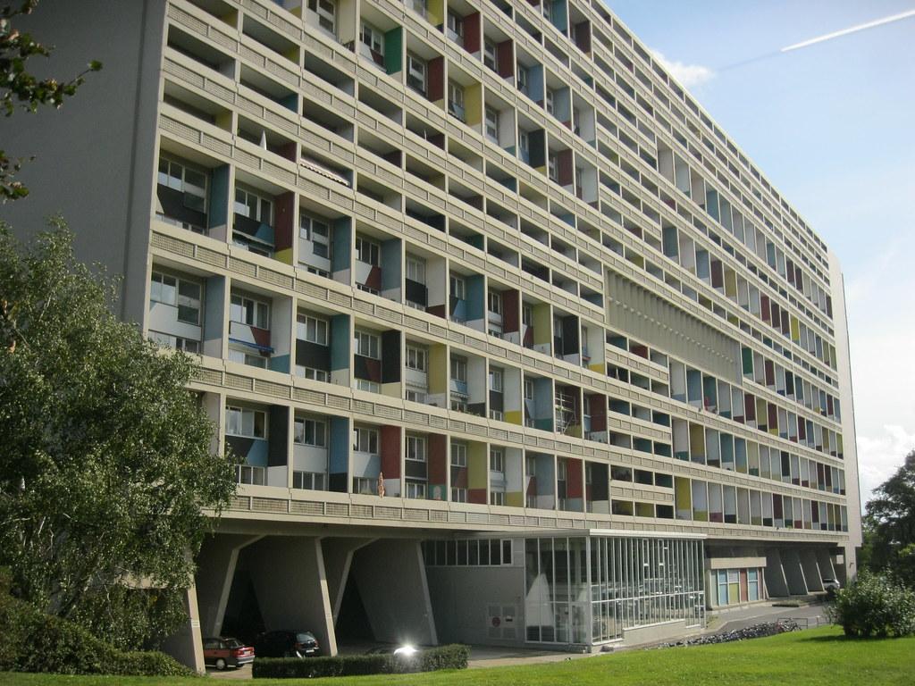 1956 58 berlin w interbau unit d habitation type berlin flickr. Black Bedroom Furniture Sets. Home Design Ideas