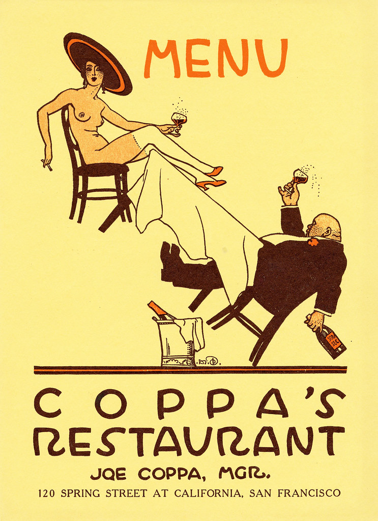 Coppa Restaurant Menu