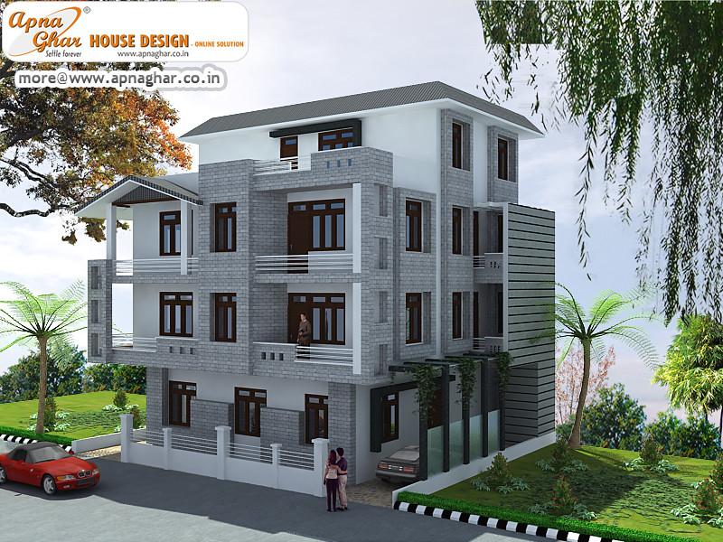 Triplex House Design An Online Complete Architectural