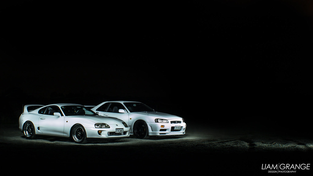 Toyota Supra And Nissan Skyline Liam Grange Flickr