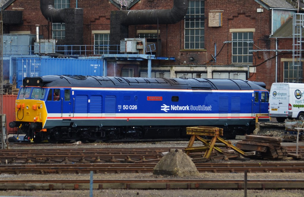 ... | Freshly repainted into Network SouthEast livery, 500… | Flickr