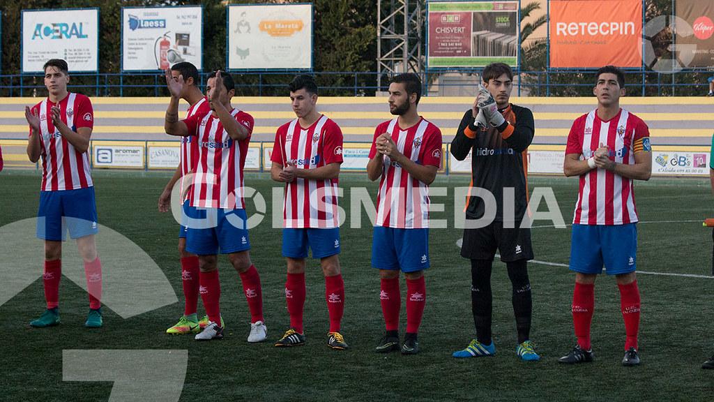 U.E L'alcudia 2 - 0 U.D. Carcaixent (Carlos Alcalde) J11