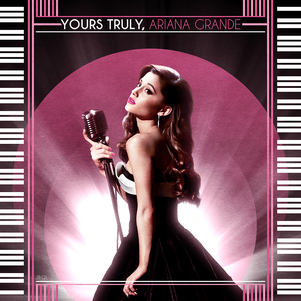 Ariana Grande Yours Truly Album Cover   Music   Pinterest ...  Yours Truly Ariana Grande Album Cover