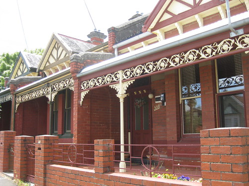 A Victorian Terrace of Houses with Queen Anne Detailing - Ballarat