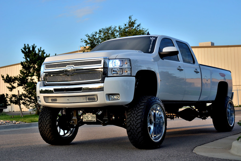 "Silverado 2008 For Sale >> SUPERSINGLE - 8LUG - 2008 CHEVY 3500 INDY 24"" X 14"" 