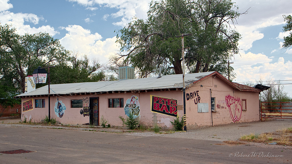 Pete S Bar On Route 66 In Moriarty New Mexico Copyright