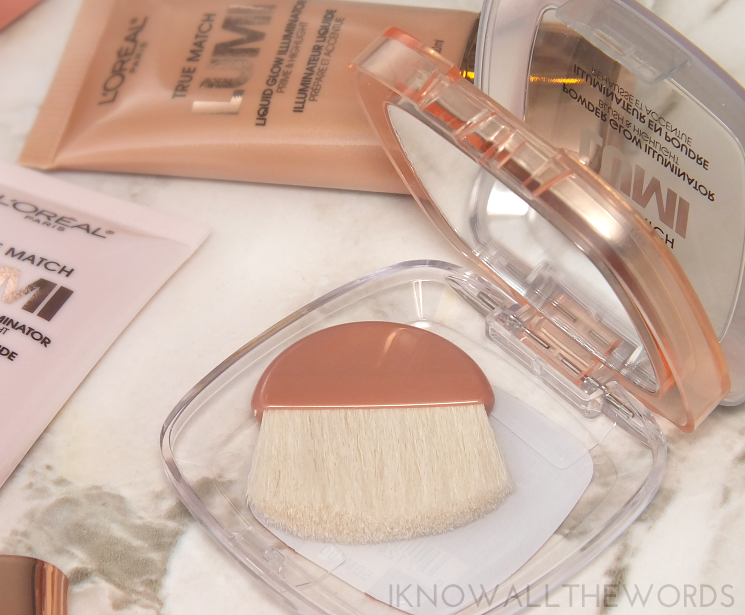 l'oreal true match lumi liquid powder glow illuminator review swatches (2)