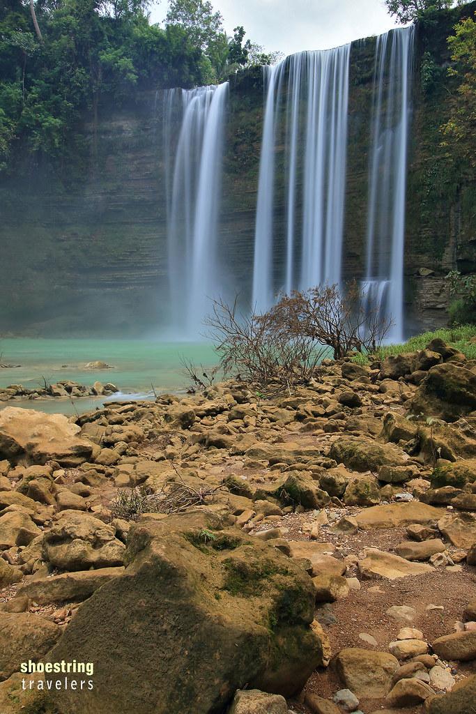 Niludhan Falls in Bayawan, Negros Oriental