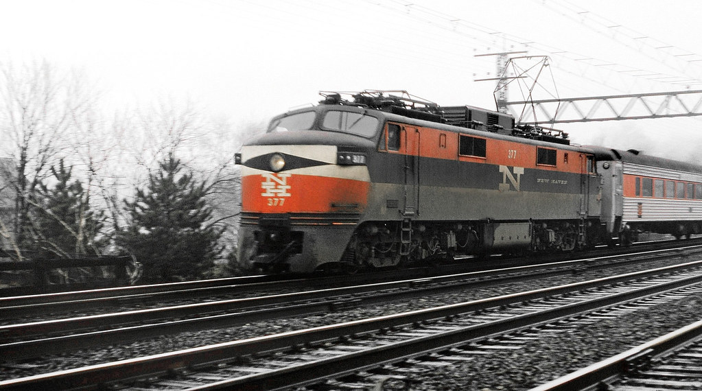 New Haven Railroad General Electric EP-5 electric passenge