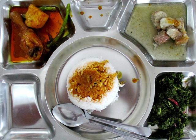 Anak Borneo nasi campur lunch