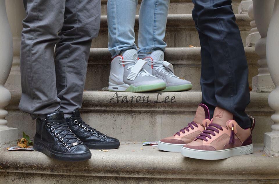 Balenciaga Arena x Nike Air Yeezy 2 Platinum x Kanye West ... Kanye West