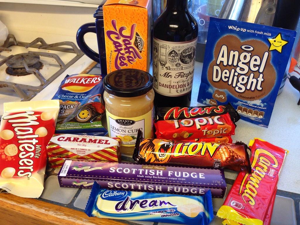 British snacks i...N California