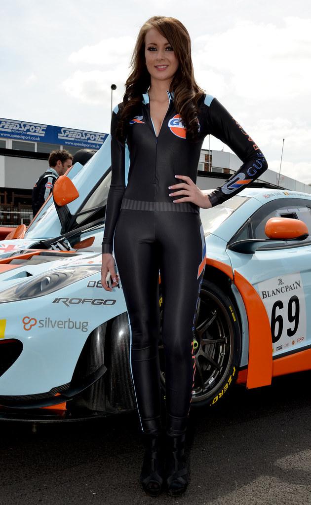 Race Car Girls Checkered Leggings