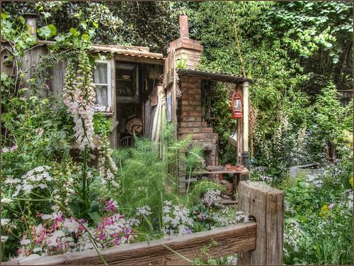 Cottage Garden Rhs Chelsea Flower Show 2009 Robin