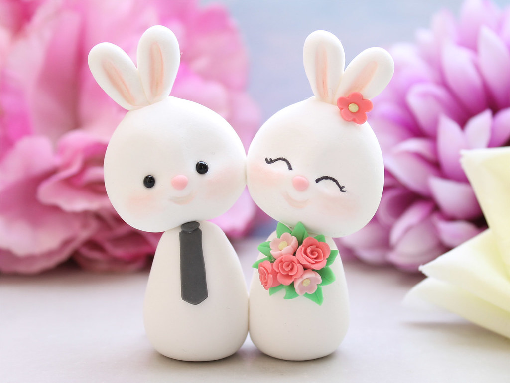 adorable wedding cake toppers unique wedding cake toppers bunnies and unique 10542
