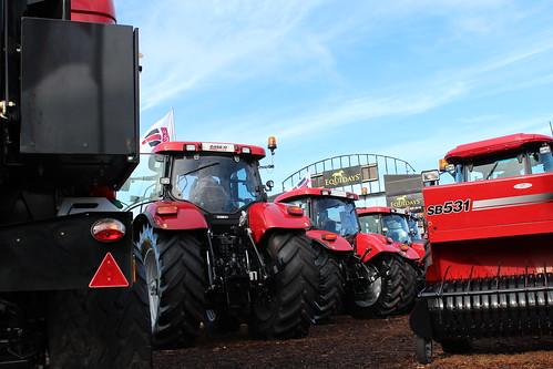 Really big tractors