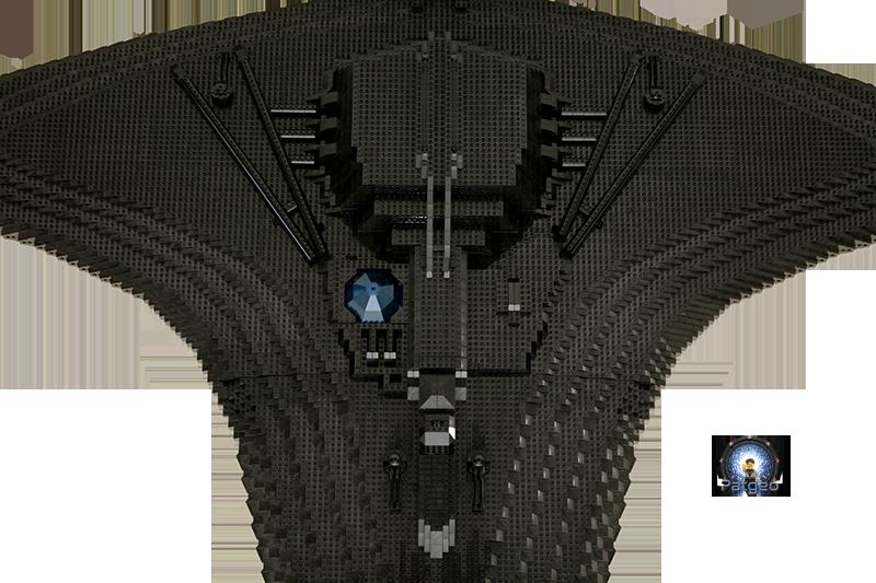 [MOC]: Destiny - Starship from Stargate Universe 30851196210_43dcc95d22_o