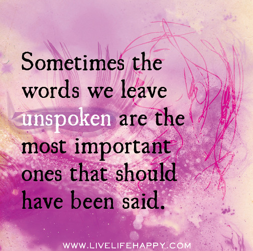 Words, Words, Words.......Quotes